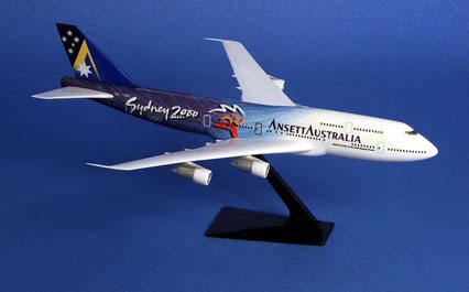 AIRCRAFT MODEL - (B747-300 Olympic Limited Edition)
